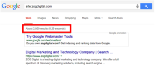 "To examine indexed pages, type ""Site:WEBSITEURL.com"" into the search window and count the results."