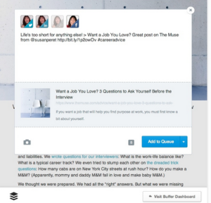 Buffer apps for marketers