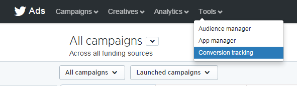 Twitter ads conversion tracking