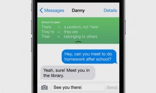 Messaging add-on uses kid's own text mistakes to improve their literacy
