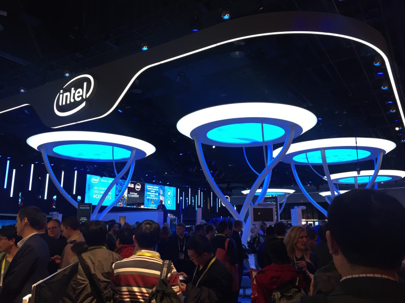 Intel CES Social Media Wall 2