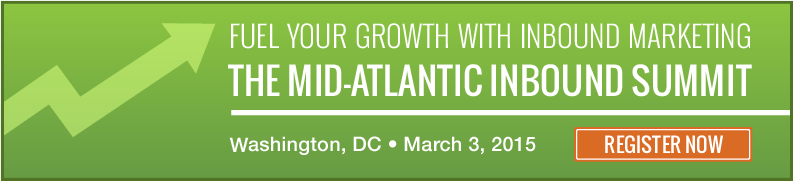 Click here to Register for the Mid-Atlantic Inbound Summit