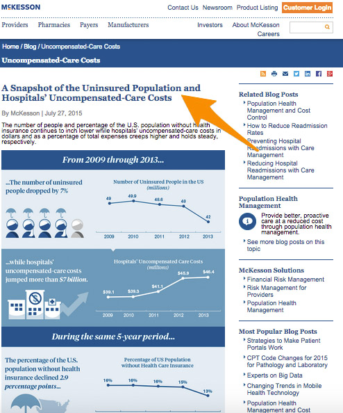 4 McKesson Corporation Infographic Screenshot