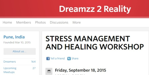 Stress Management Workshop