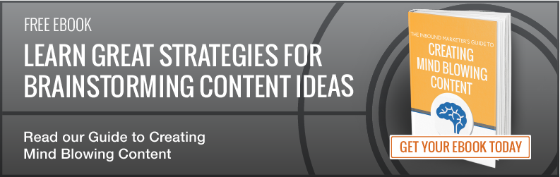 Download the Guide to Creating Mind Blowing Content