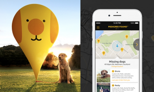 Digital missing pet posters get sent to every smartphone in the area