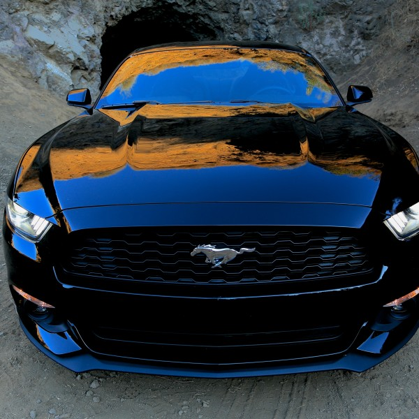 2015 Mustang at the Batcave