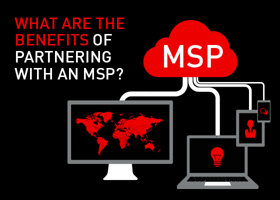 What are the benefits of partnering with an MSP 3