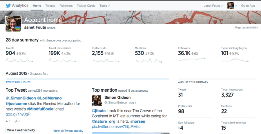 Twitter's Enhanced Analytics Dashboard
