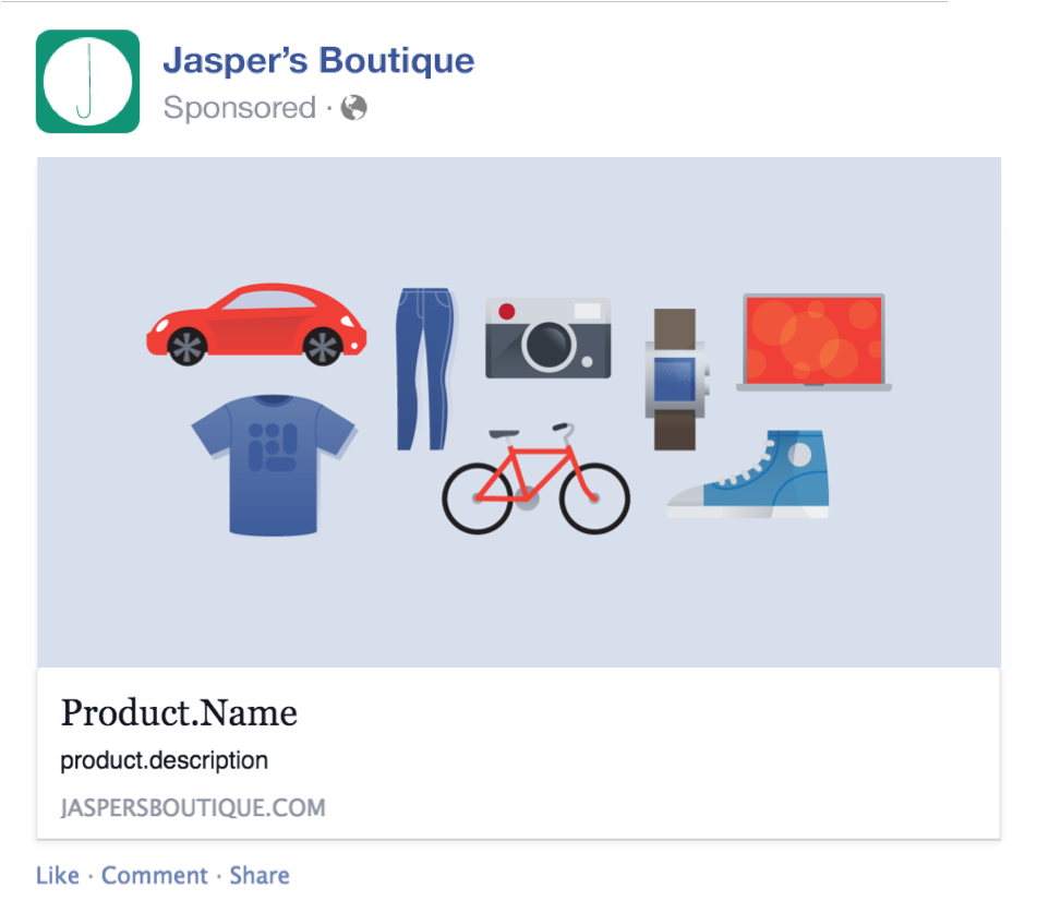 New Dynamic Facebook Product Ads Things You Need To Know - Facebook advertising template
