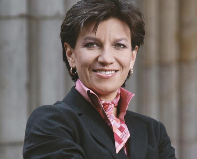 Claudia López, senadora colombiana (Wikipedia)