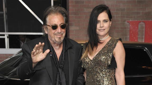 Al Pacino y Meital Dohan en su última aparición pública como pareja, durante la premiere de El irlandés. (Imagen: Richard Shotwell - AP Photo / Gtres)