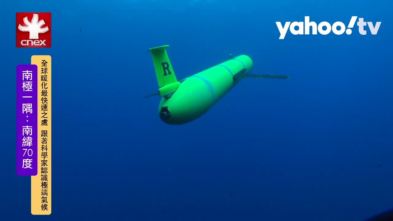用機器人追蹤 跟著企鵝瞭解海中生態