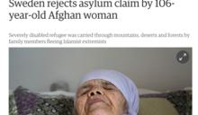 兒孫從阿富汗揹到歐洲 106歲嬤恐遭瑞典驅逐