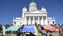 【Yahoo論壇/廖曉佩】赫爾辛基氣候遊行:給孩子一個值得渴望的未來