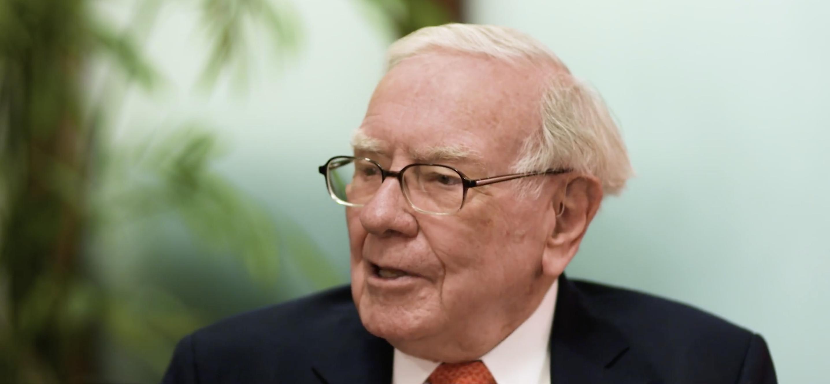 巴菲特在公布股東信之後接受CNBC採訪-Part 1