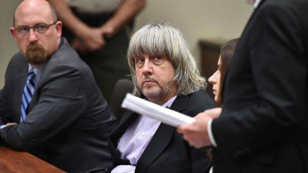 PHOTO: David Allen Turpin appears in court for arraignment with attorneys on Jan. 18, 2018 in Riverside, Calif. (Frederic J. Brown, Pool via Getty Images)