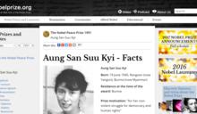 閻紀宇專欄:翁山蘇姬的諾貝爾和平獎章化為灰燼