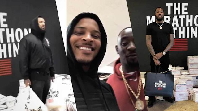 T.I., The Game & Meek Mill Buy Out Nipsey Hussle's Clothing Store Before Memorial