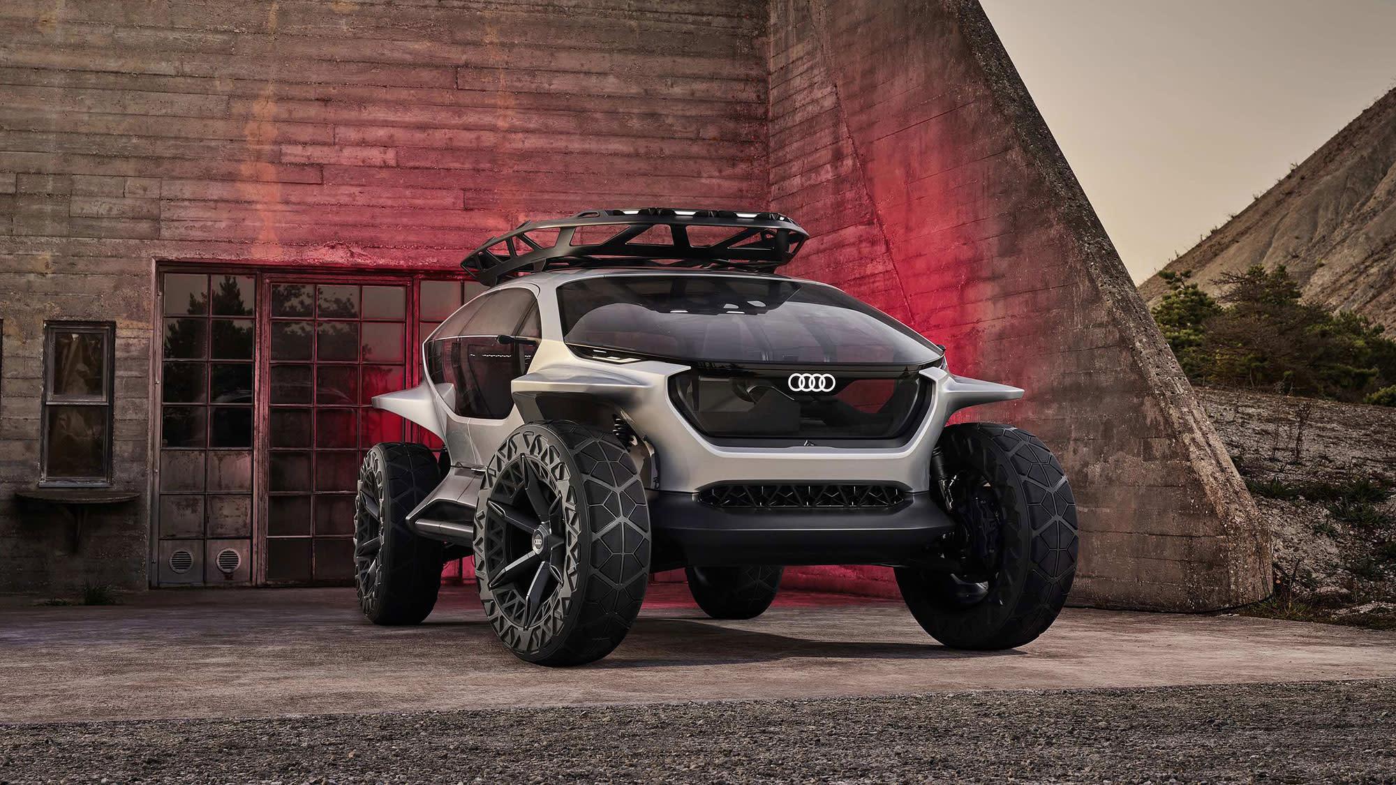 Audi AI:Trail quattro 純電越野概念亮相,擘劃征服地表野望