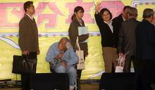 蔡總統祝賀史明百歲生日(2) (圖)