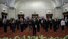 賴清德宣誓就職行政院長(3) (圖)