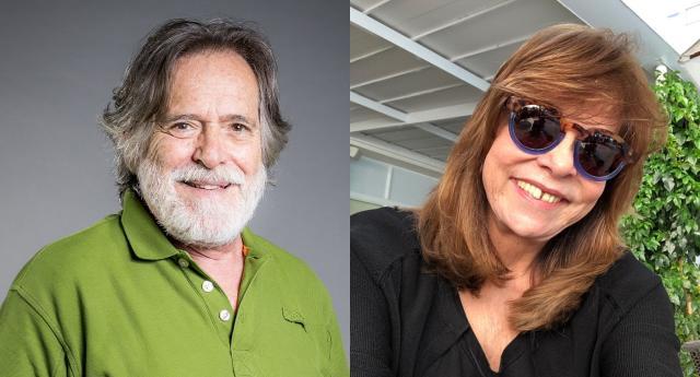 José de Abreu e Gloria Perez. Fotos: divulgação/TV Globo e reprodução/Instagram/gloriafperez