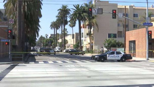 Los Angeles police charged a man with murder on Monday, Sept. 23, 2018, in connection to the beating deaths of two homeless men in the city. (KABC)