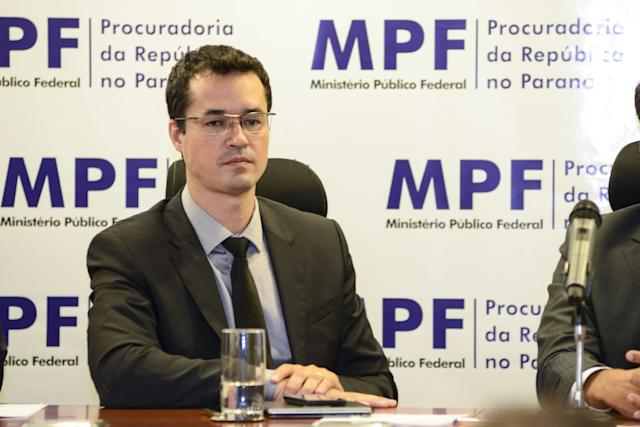 ***ARQUIVO***CURITIBA, PR, 16.03.2019: Deltan Dallagnol, coordenador da força-tarefa da Lava Jato de Curitiba. (Foto: Henry Milleo/Fotoarena/Folhapress)