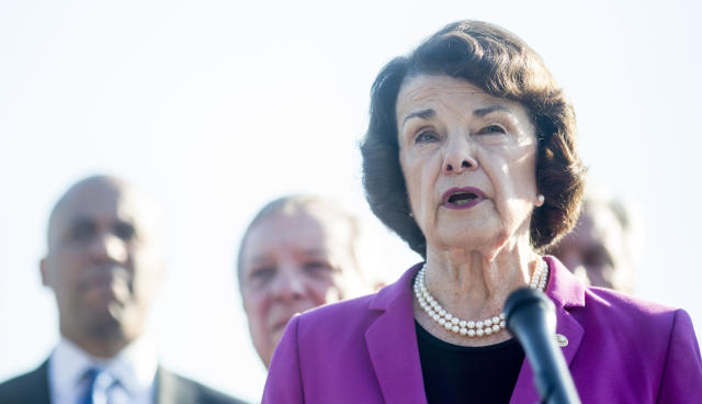 Sen. Dianne Feinstein (D-Calif.) has been facing pressure from her fellow Democrats to release a document about Supreme Court nominee Brett Kavanaugh.
