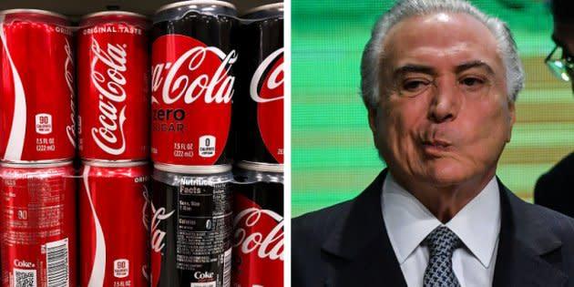 Na prática, o presidente cedeu às pressões das gigantes do setor de refrigerantes sediadas na Zona Franca de Manaus, no Amazonas.