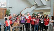 感謝張明達關懷 天使組團合唱耶誕曲嘉義縣議會報佳音