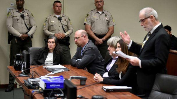 PHOTO: Louise Anna Turpin and David Allen Turpin appear in court for arraignment with attorneys on Jan. 18, 2018 in Riverside, Calif. (Gina Ferazzi, Pool via Getty Images)