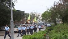 南生圍火警警向村民做問卷 網罪科協助重案組調查