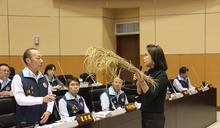 稻米收成差又遭苛扣 議員為小農發聲 (圖)
