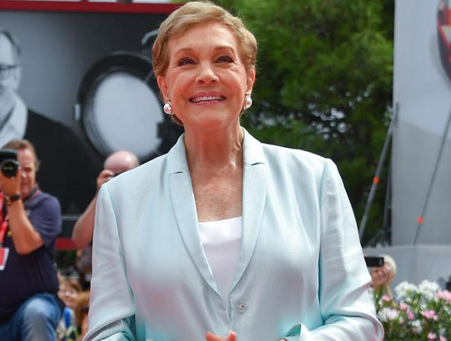 Julie Andrews en el Festival de Cine de Venecia, el 2 de septiembre de 2019 (Agencia: Guindani; Autor: ©SGP; Copyright: GTRES)