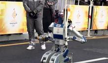 智慧機器人駕車傳聖火 平昌冬奧秀科技