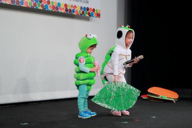 共讀中 培養孩子說演故事的能力