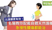 名醫教你配戴自體天然護腰,急慢性腰痛都能治