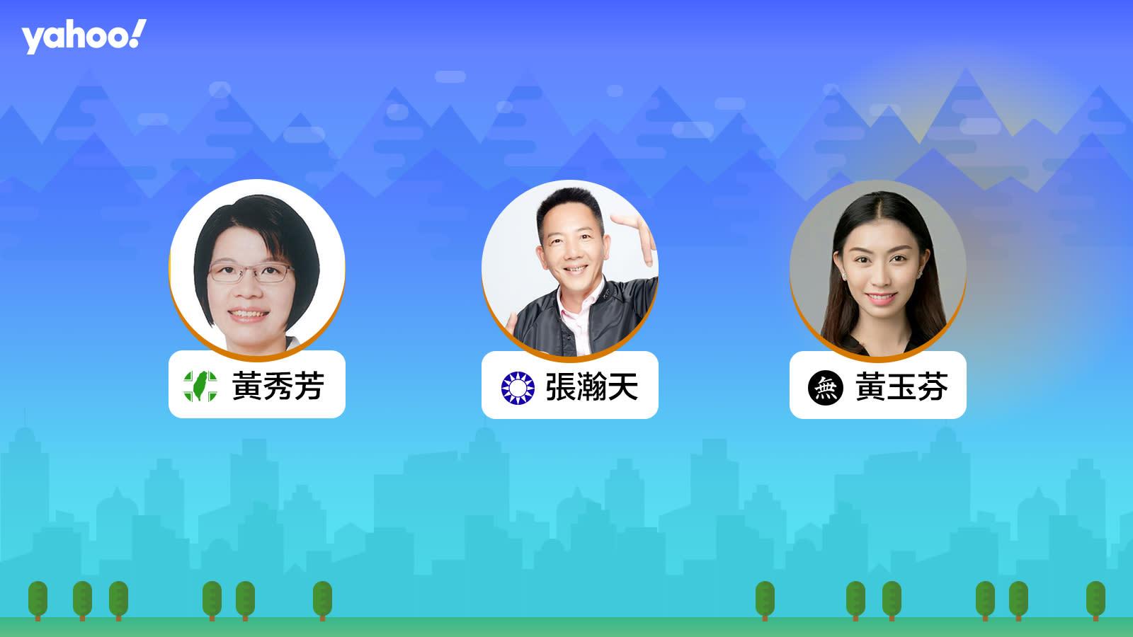 2020立委選舉彰化縣第二選區,你支持誰?
