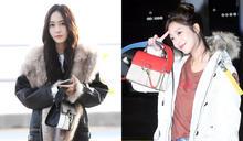 Jessica VS 趙寶兒~拎著同款包秀出各自氣質的機場時尚!