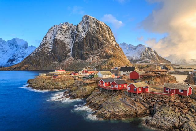 Paisaje noruego. Fuente de la imagen: La Nación.