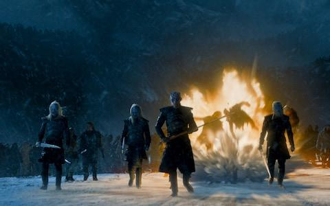 white walkers - Credit: HBO