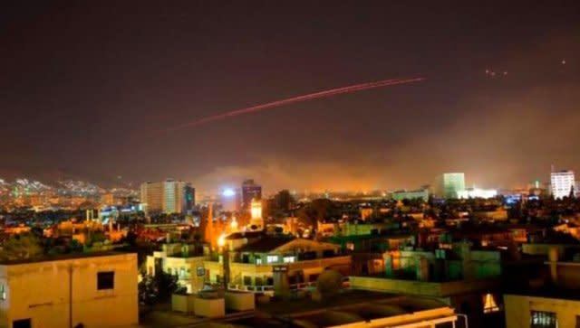 川普開戰了!美英法聯手轟炸敘利亞