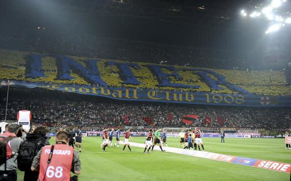 Internazionale系列Giuseppe Meazza体育场意大利10152013