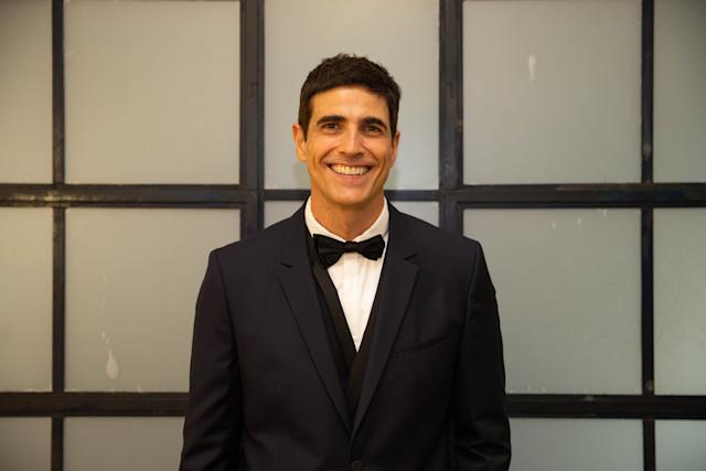 *存档*巴西圣保罗,巴西,18年5月18日:演员雷纳尔多·吉安奇基尼(Reynaldo Gianecchini)在圣保罗(SP)举行的Graacc晚宴上。 (照片:Marcus Leoni / Folhapress)