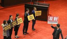 時力提「兩岸政治協議應強制公投」國親民聯手封殺否決