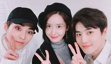 潤娥公開EXO演唱會認證照! 與「同齡LINE」SUHO&XIUMIN合影