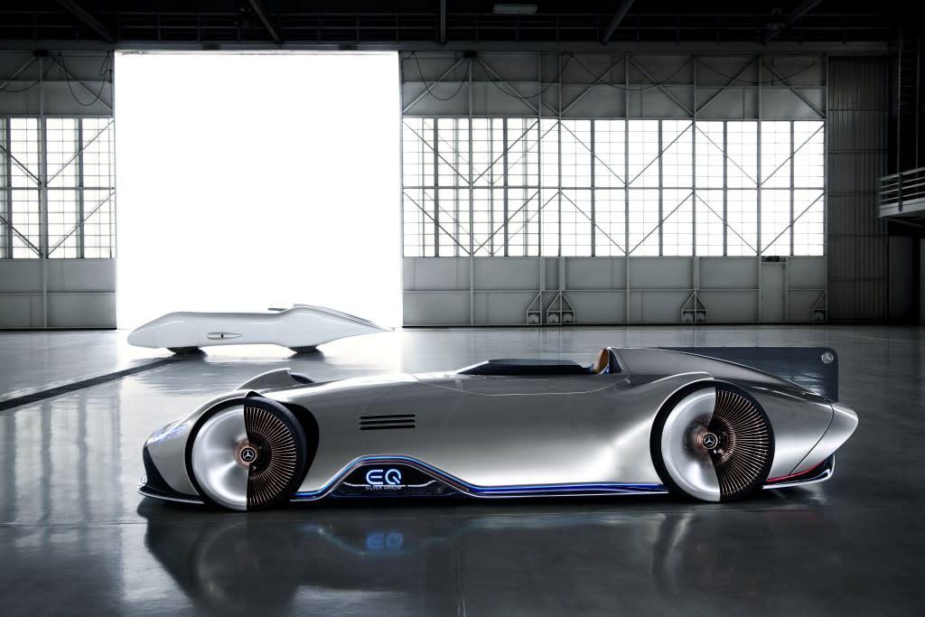 EQ 閃耀2020台北車展,Mercedes-Benz Vision EQ Silver Arrow 與 Concept EQA 首度在台亮相