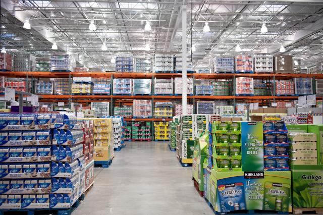 A Costco store in Mount Laurel, New Jersey.